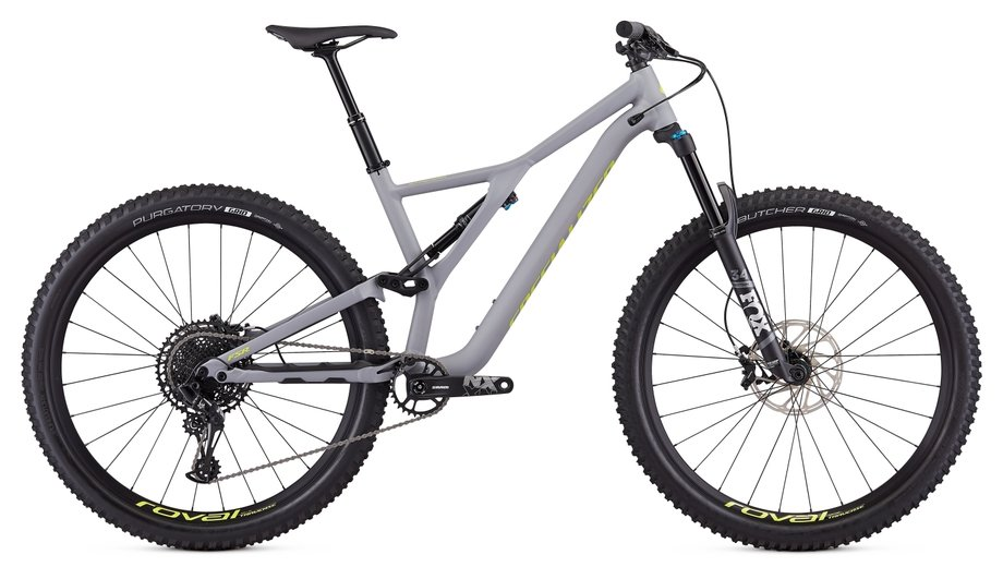 Specialized Stumpjumper FSR Comp 12-spd Grau Modell 2019