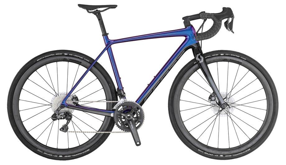 Scott Addict Gravel 10 Blau Modell 2020