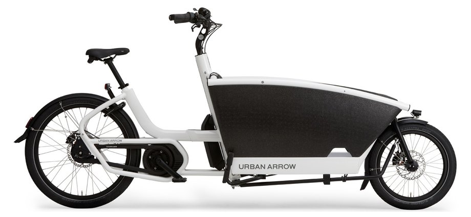 Urban Arrow Family Performance CX Disc Zee Weiß Modell 2019